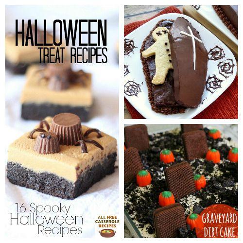 Halloween Treat Recipes 16 Spooky Halloween Recipes Spooky - halloween treat ideas