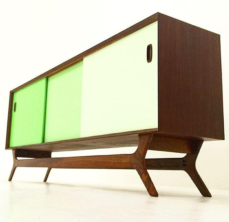 Color block credenzamidcentury furniture los angeles