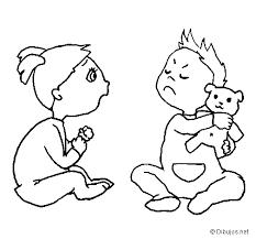 Trabajar Las Emociones Enfado No Compartir Dibujos De Hermanos Hermanas Dibujos
