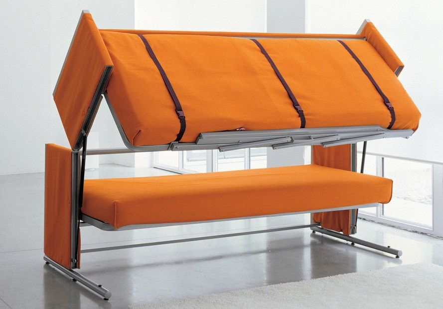 Bonbon S Brilliant Sofa Transforms Into A Bunk Bed In A Snap
