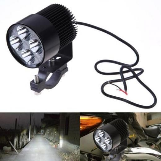 Super Bright Led Spot Light Head Lamp Motor Bike Car Motorcycle 12v 85v 20w Sale Flashers Black With Images Motorcycle Led Lighting Led Motorcycle Headlight Led Headlights