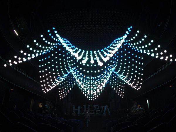 Orbis Fly - Kinetic Light in Leningrad Center