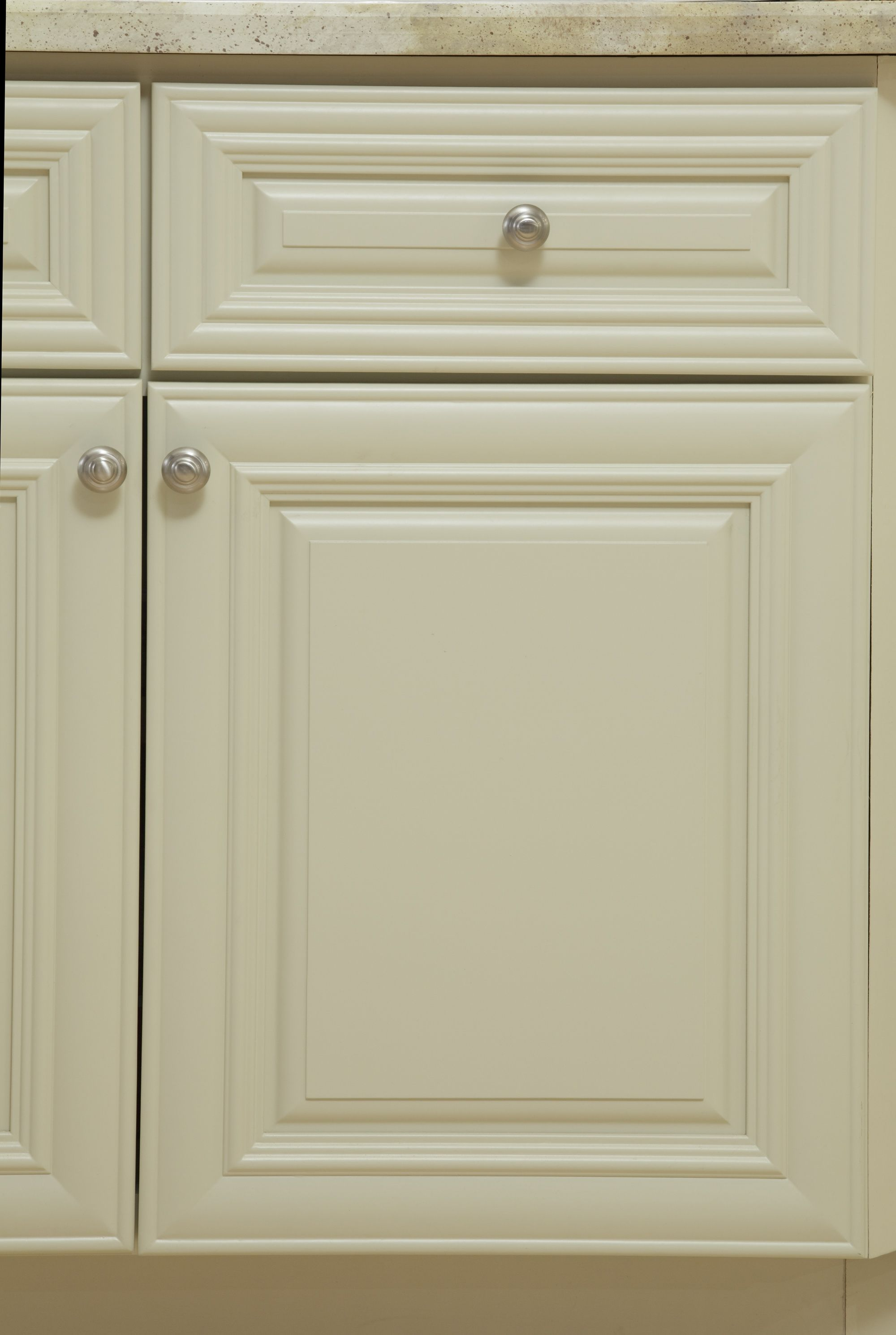 B Jorgsen & Co Victoria Ivory white kitchen features soft