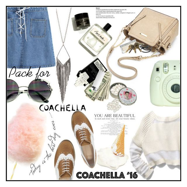 """""""It's a nice day for a revolution!"""" by azra-rnr ❤ liked on Polyvore featuring Jules Smith, Goody, ASOS and packforcoachella"""
