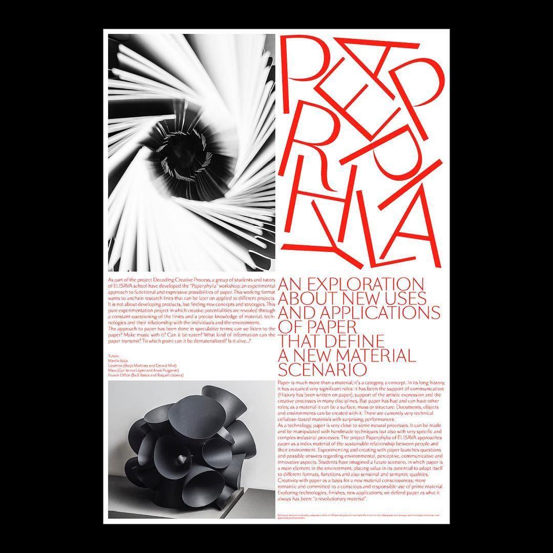 "57 Me gusta, 3 comentarios - Albert Romagosa (@albertromagosadotcom) en Instagram: ""🔴 #identity #design #graphicdesign #typography #artdirection #diseño #fuorisalone2017 #milano…"""