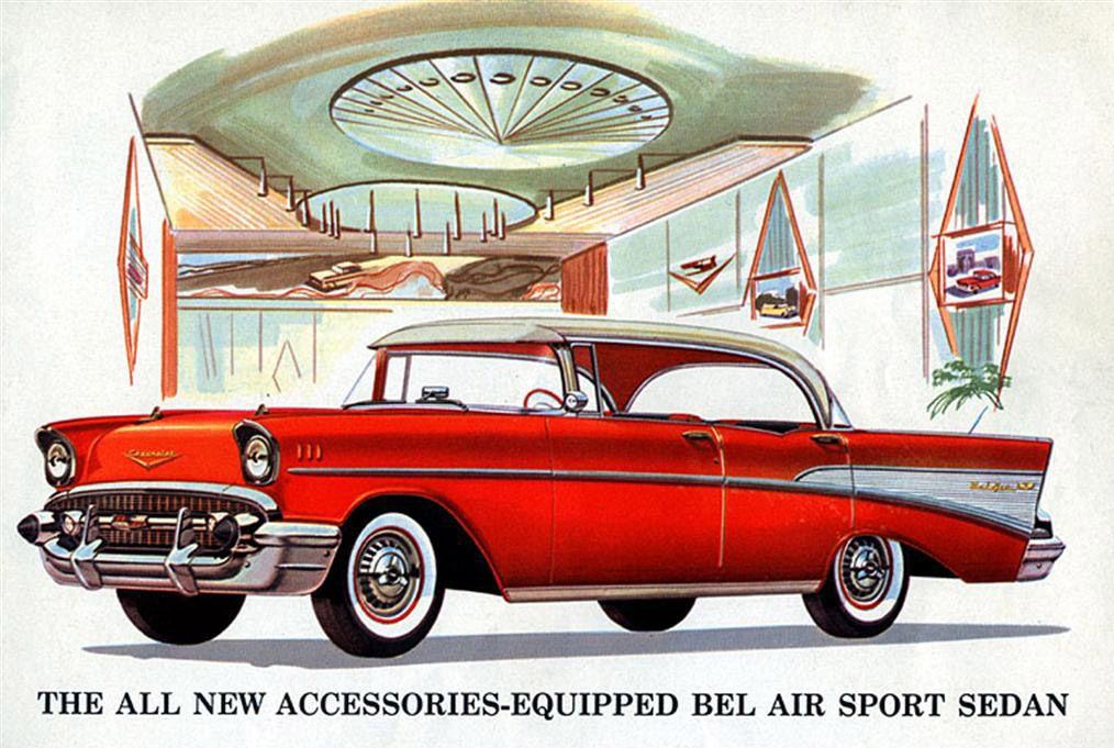 1957 Chevrolet Bel Air Sport Sedan