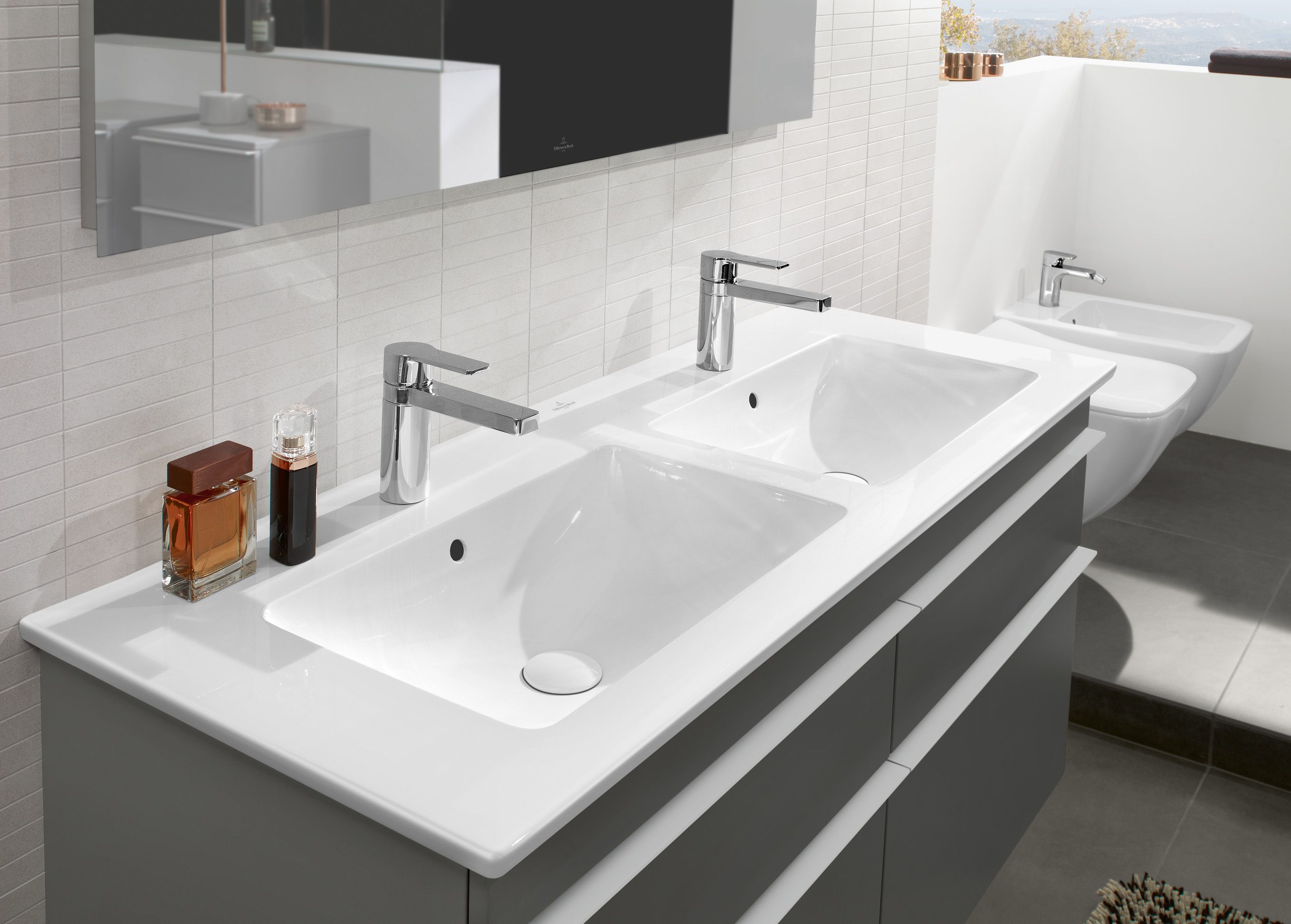 Burgbad Doppelwaschtisch 160 Venticello Learn More On Great Villeroy Boch Bathroom