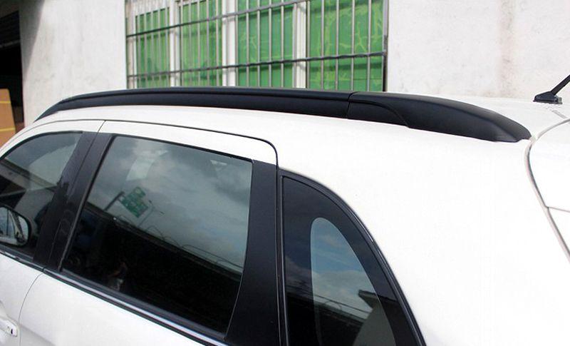 Black Side Bars Rails Roof Rack For Mitsubishi Outlander Sport Asx 2013 2014 2015 Car Styling Roof Rack Mitsubishi Mitsubishi Outlander Sport