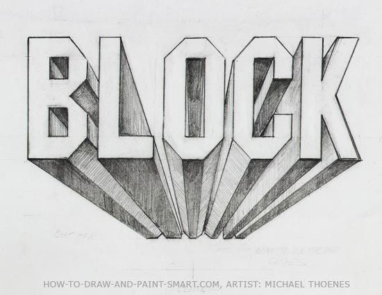 how to draw 3d block letter a z emanuell blog