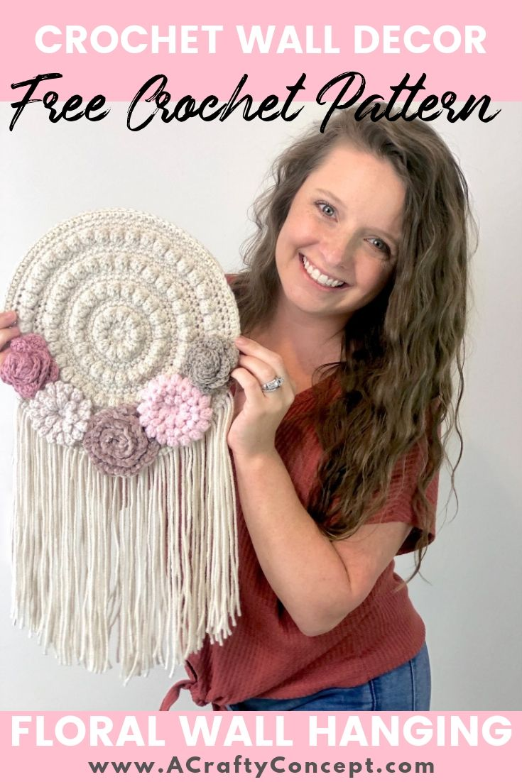 How To Make An Easy Crochet Tapestry- Quick And Free Pattern