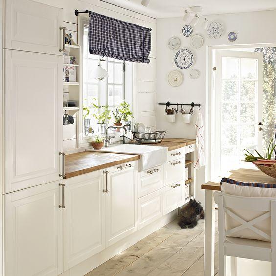 Küchen landhausstil ikea  Afficher l'image d'origine | Projets à essayer | Pinterest | Küche ...