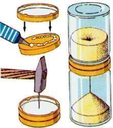 physik f r kids eine sanduhr zum selberbauen basteln mit kindern kinderbasteleien basteln. Black Bedroom Furniture Sets. Home Design Ideas