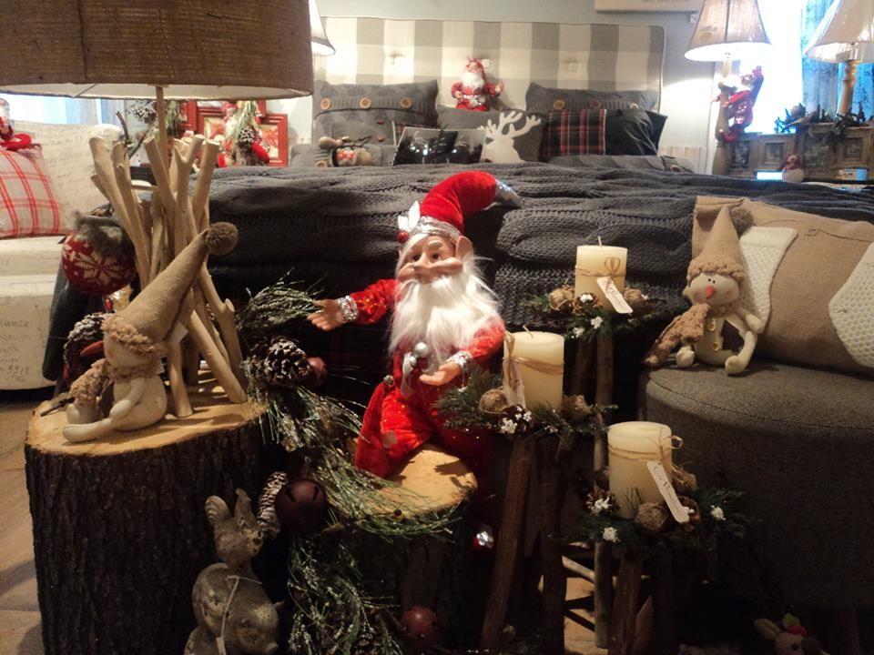 Lutin de Noël et décoration, idée cadeau, lampe, chandelle ...