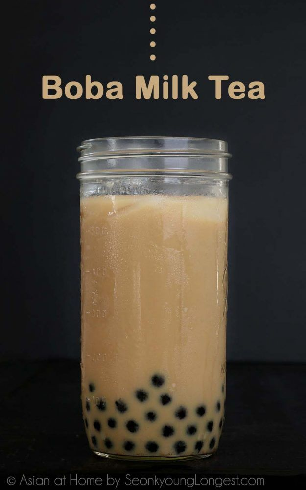 Boba Milk Tea Recipe Video Seonkyoung Longest Recipe Milk Tea Recipes Boba Tea Recipe Bubble Tea Recipe