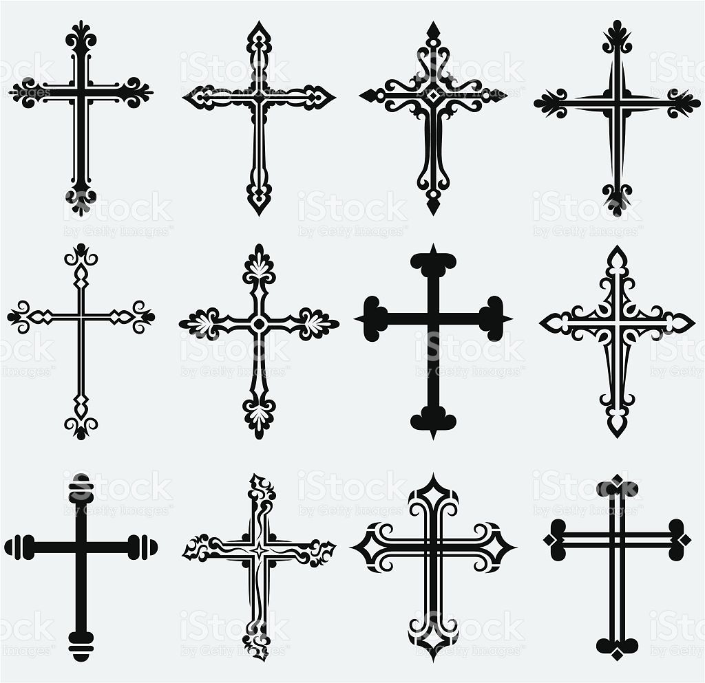 religious cross design collection tattoo ideen kreuze. Black Bedroom Furniture Sets. Home Design Ideas
