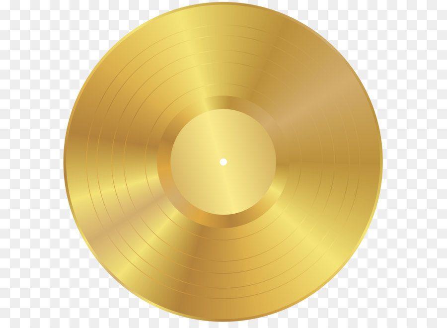 Phonograph Record Clip Art Gold Vinyl Record Png Clip Art Image Gold Vinyl Clip Art Art Images