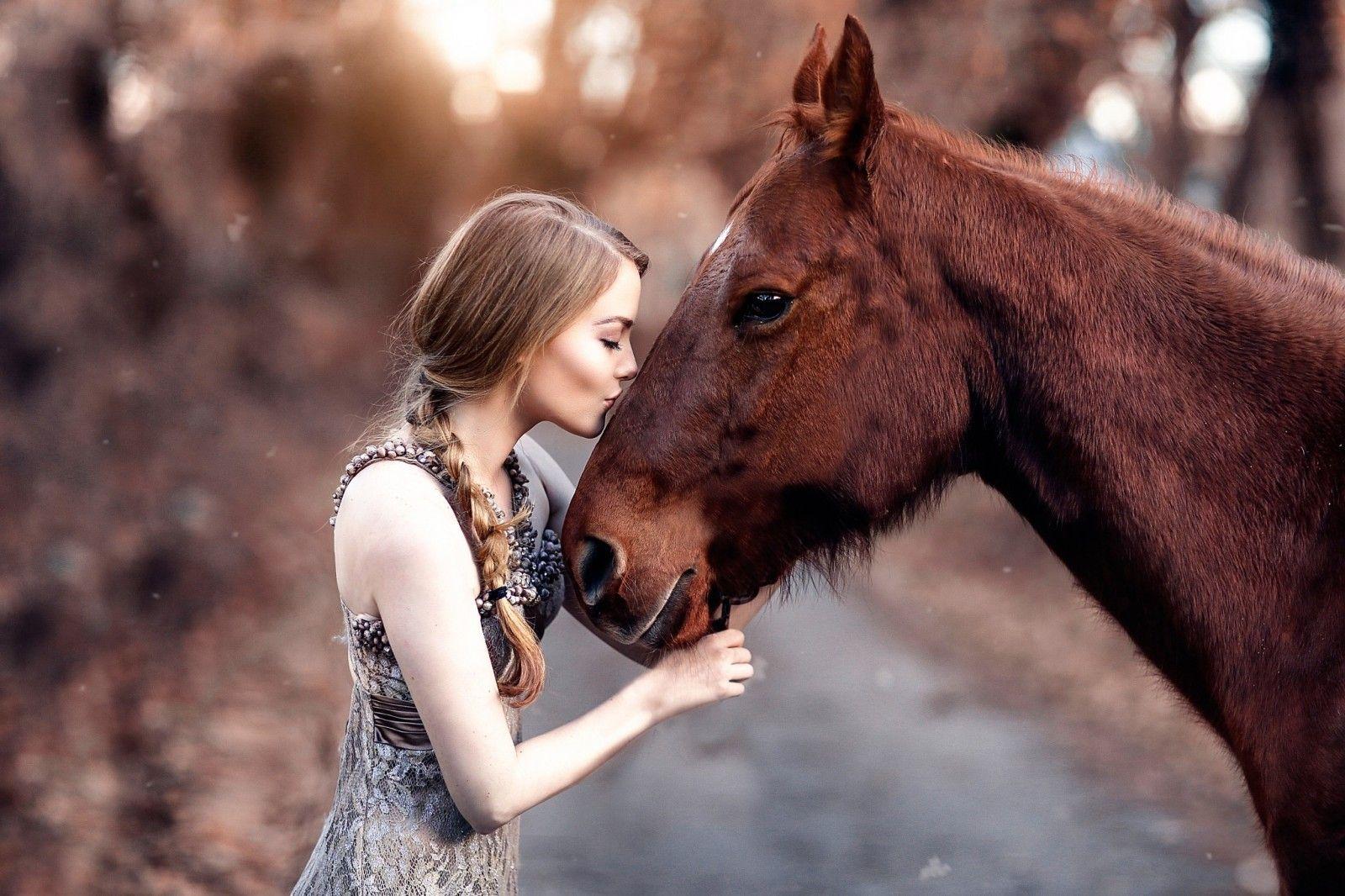 фото людей с конями что чует, прям