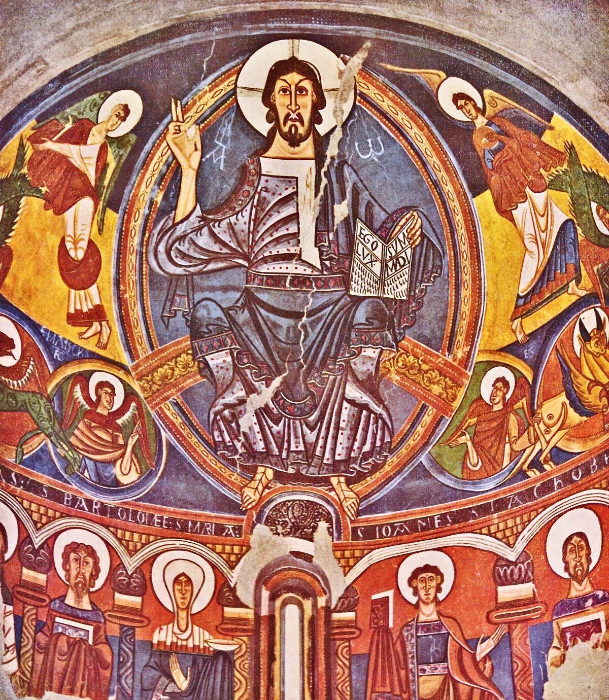 Unknown Artist. Majestas Domini (Christ in Majesty). Apse
