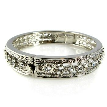 Jacqueline Kennedy's Engagement Bangle Bracelet, an engagement gift from JFK to Jacqueline Kennedy