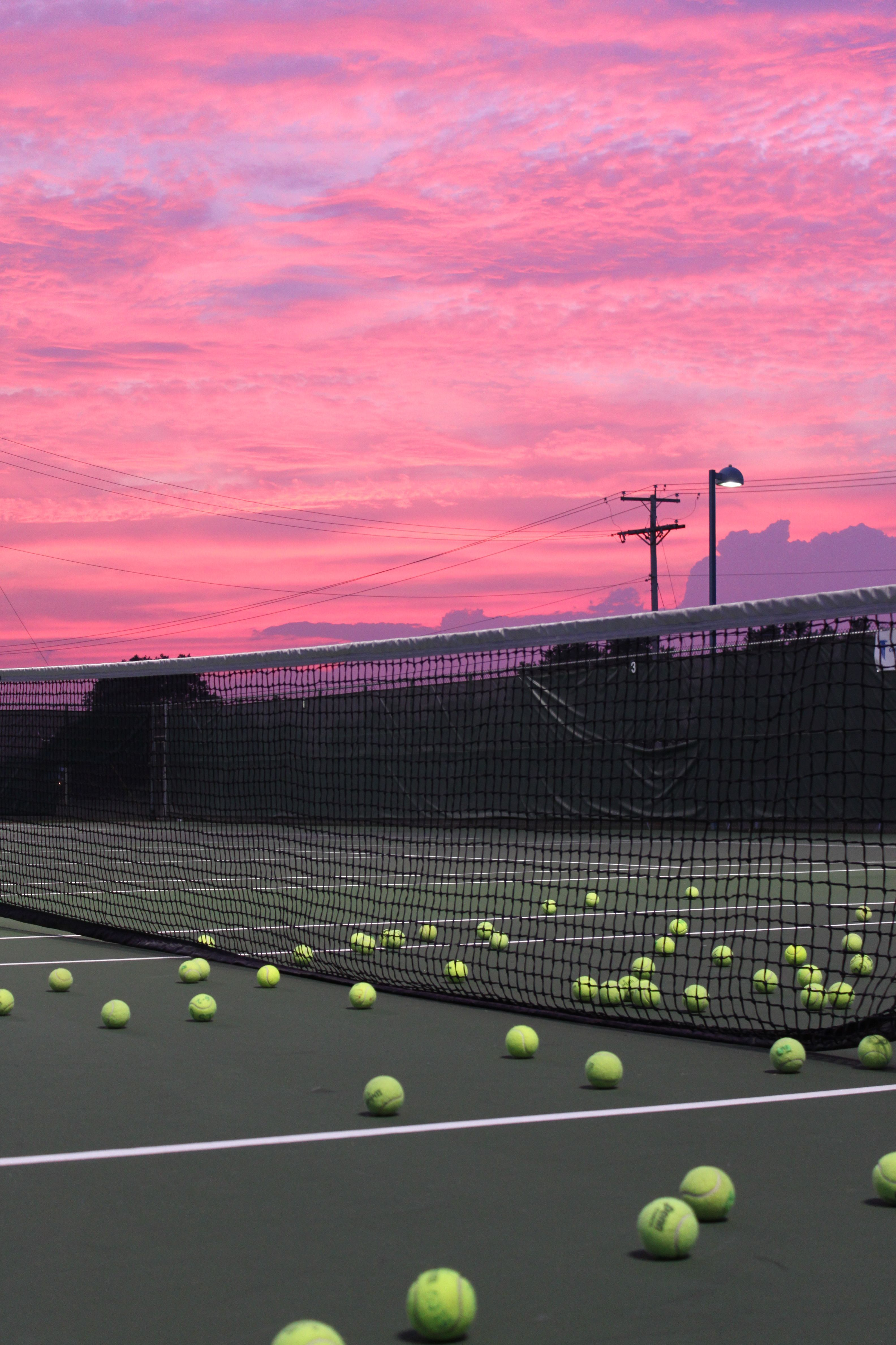 Afternoon Court Color Tennis Wallpaper Tennis Photography Tennis Art