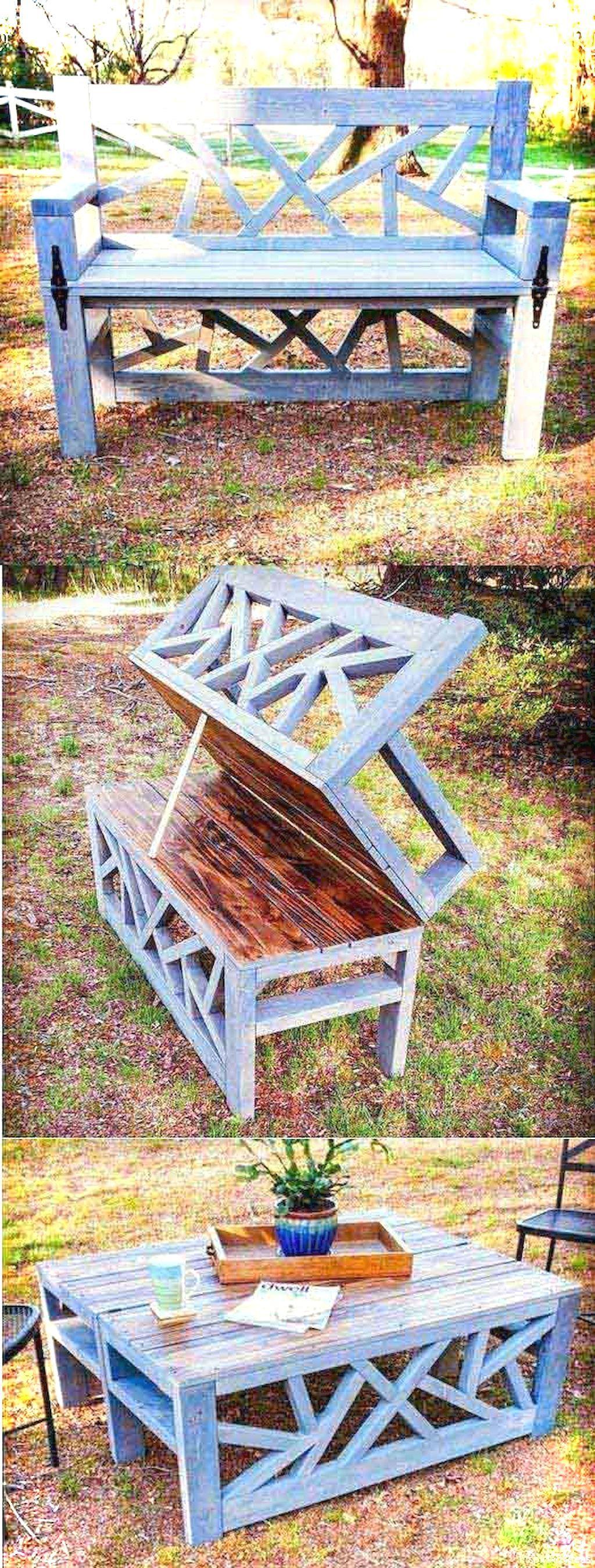 48 Incredible Garden Furniture Ideas