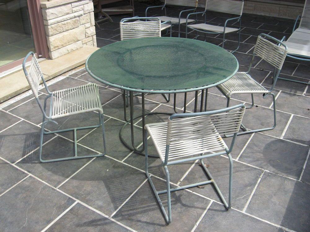Vintage Original Bronze Patio Furniture