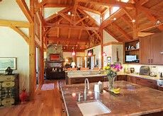 Timber Frame Home Kitchen Island Ideas - Bing images