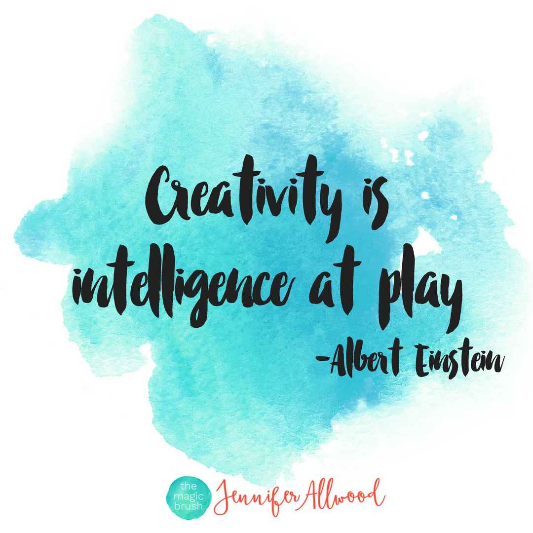 Creativity is Intelligence At Play Albert Einstein