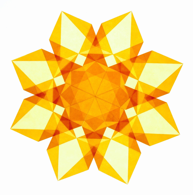 Golden yellow window star golden yellow window and star