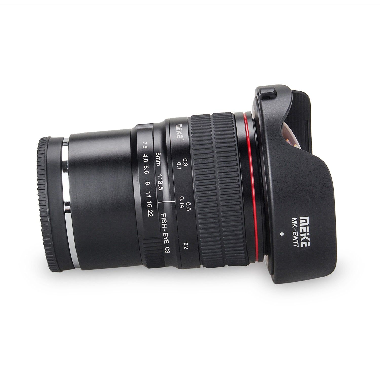 Meike 8mm f/3,5 weitwinkel fisheye-objektiv für fujifilm x-mount ...