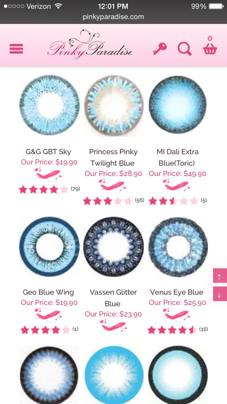 Liz eye color contact lenses 20 colors colored contacts color best colored contacts by pinky paradise nvjuhfo Image collections