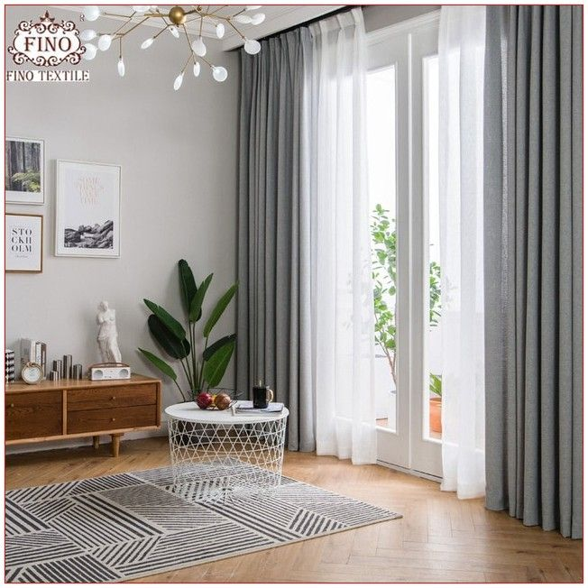 Drapes For Living Room Contemporary Beautiful In 2020