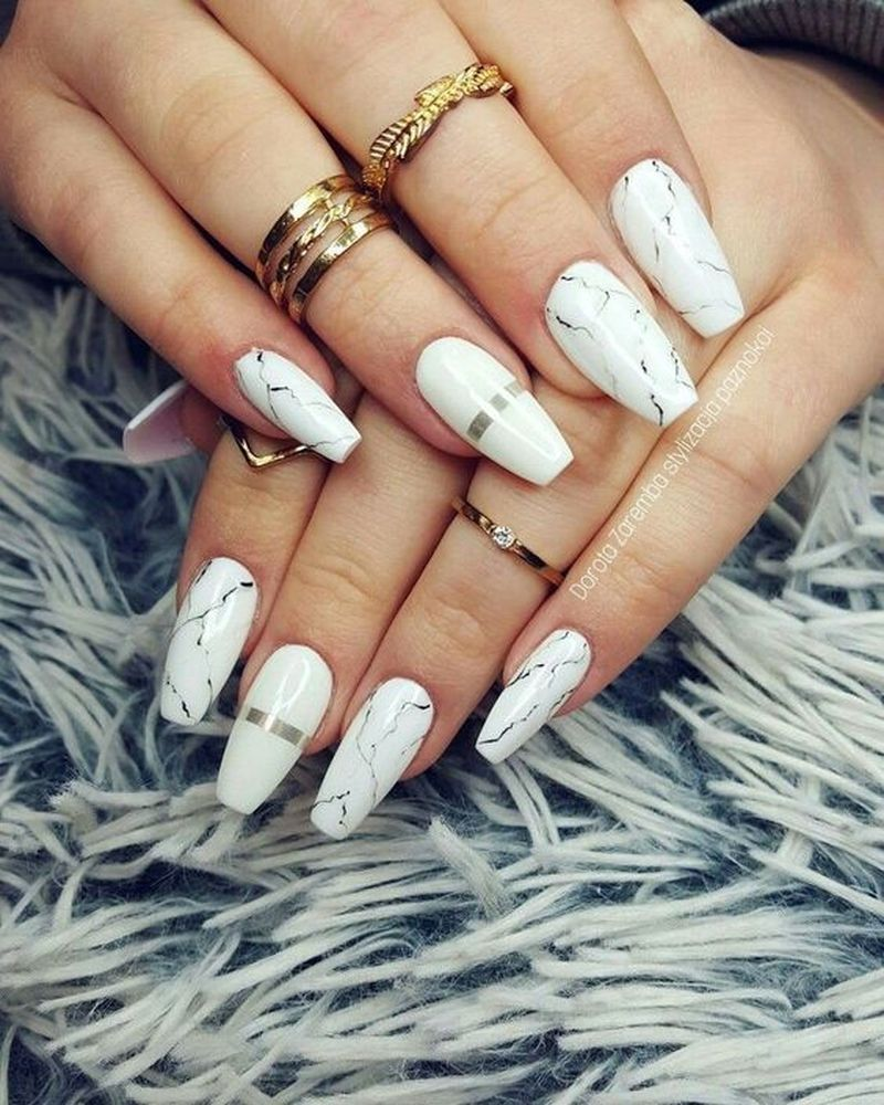Photo of 39 Awesome Marble Nail Design To Beautify Your Summer Look – gliteratious.com