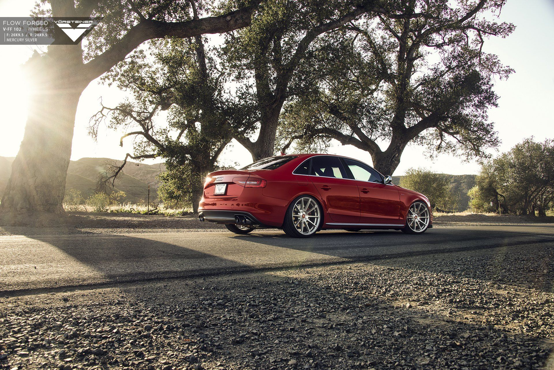 Candy Red Audi S4 Customized And Featuring Chrome Mesh Grille Red Audi Audi S4 Audi