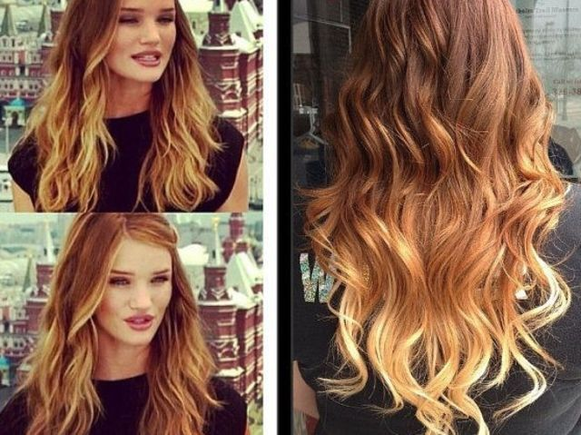 What Color Should You Dye Your Hair Brown To Blonde Ombre Hair