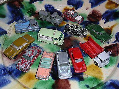 JOB LOT MATCHBOX LESNEY DIECAST CARS Commer Jaguar Bedford Ford Hillman Rootes - http://www.matchbox-lesney.com/43330