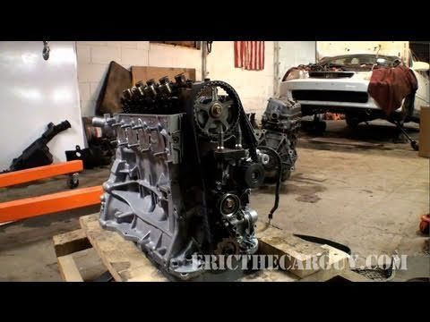 Honda Civic Timing Belt Replacement, Quick Look (1998)   EricTheCarGuy ...