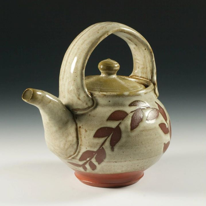 Favorite tea pot. Thrown by Nate Willever