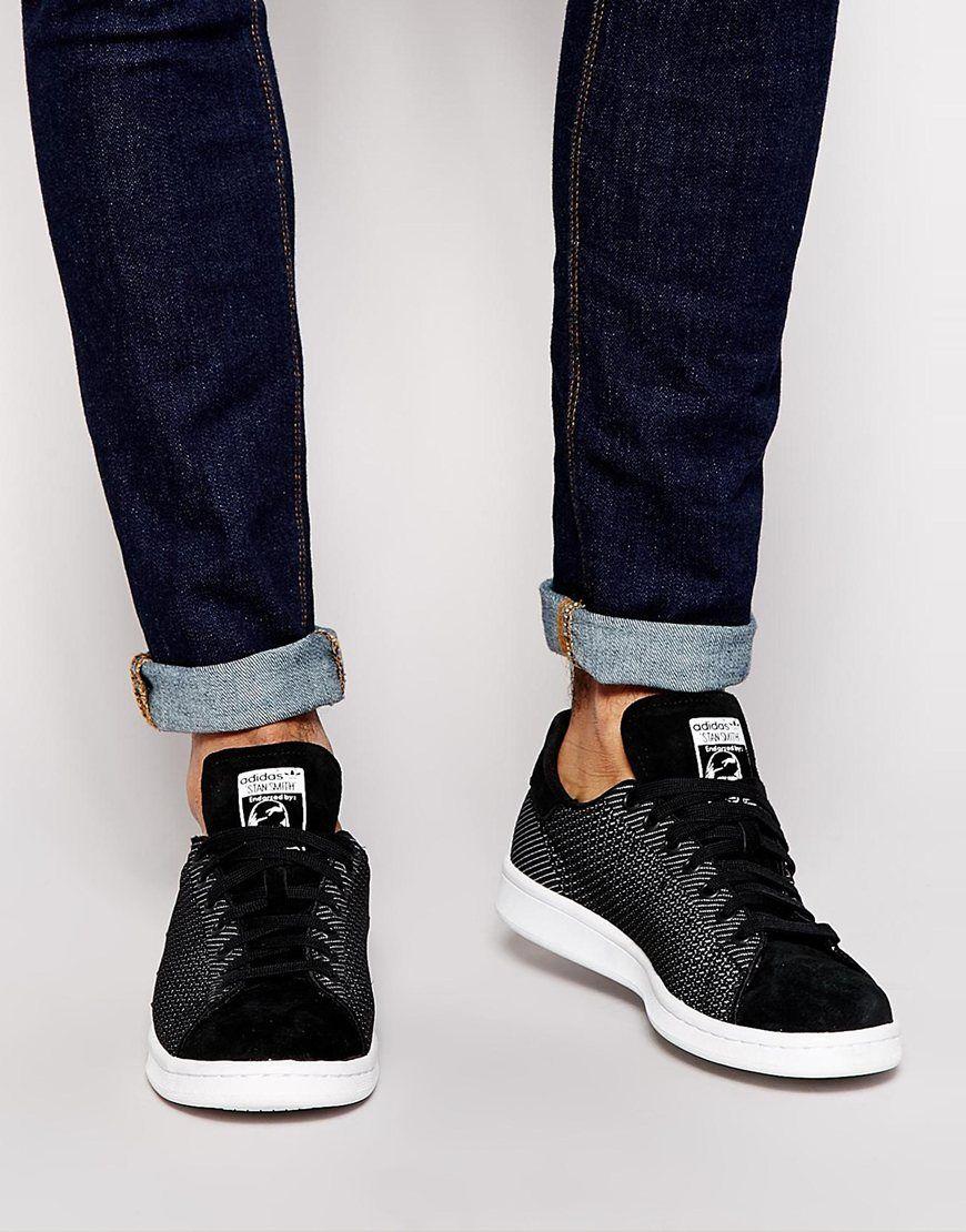 adidas original stan smith woven