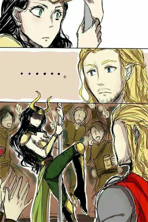 Colección de One-shots de esta pareja  - Thor x Loki