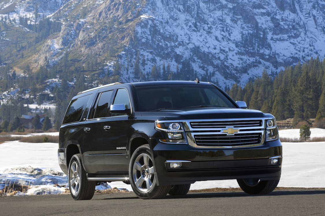 2015 Black Suburban Suburban Remains The Benchmark 2015