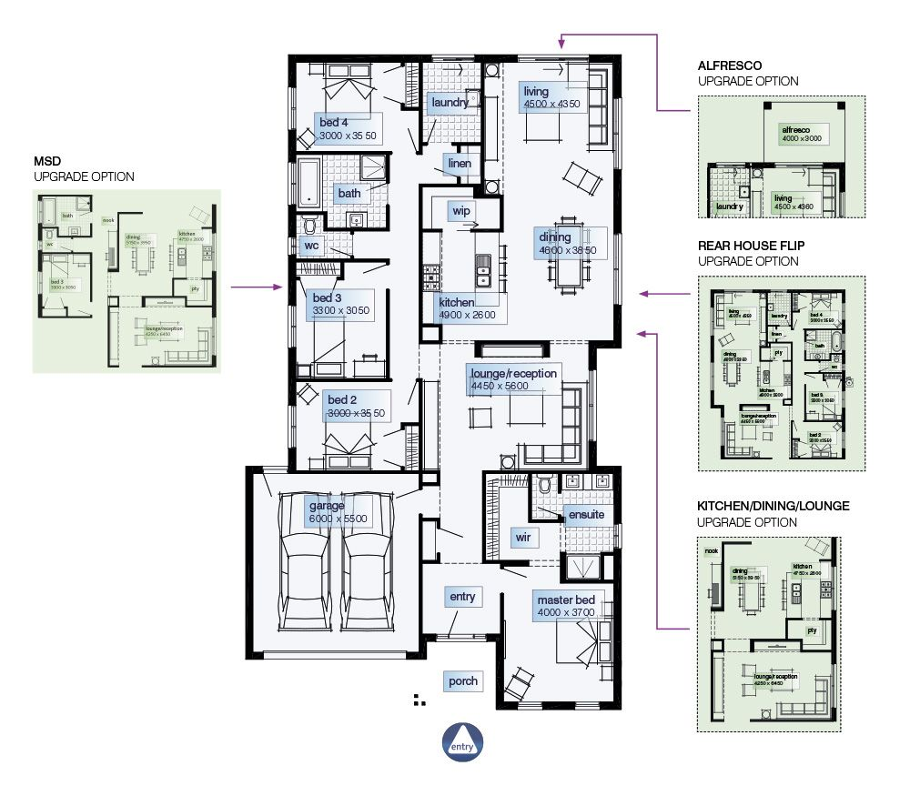 Simonds Homes Floorplan - Arlington   House plans   Pinterest   Town ...