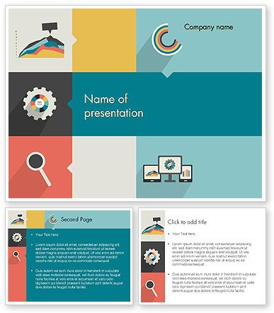 This is a powerpoint template 12302 that i have just liked at process with flat icons powerpoint template toneelgroepblik Gallery