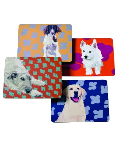 Dog Table Mat Set by Leslie Gerry