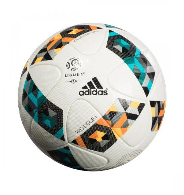 Adidas lança última bola da marca que será usada no Campeonato Francês 7f216cc630cc5
