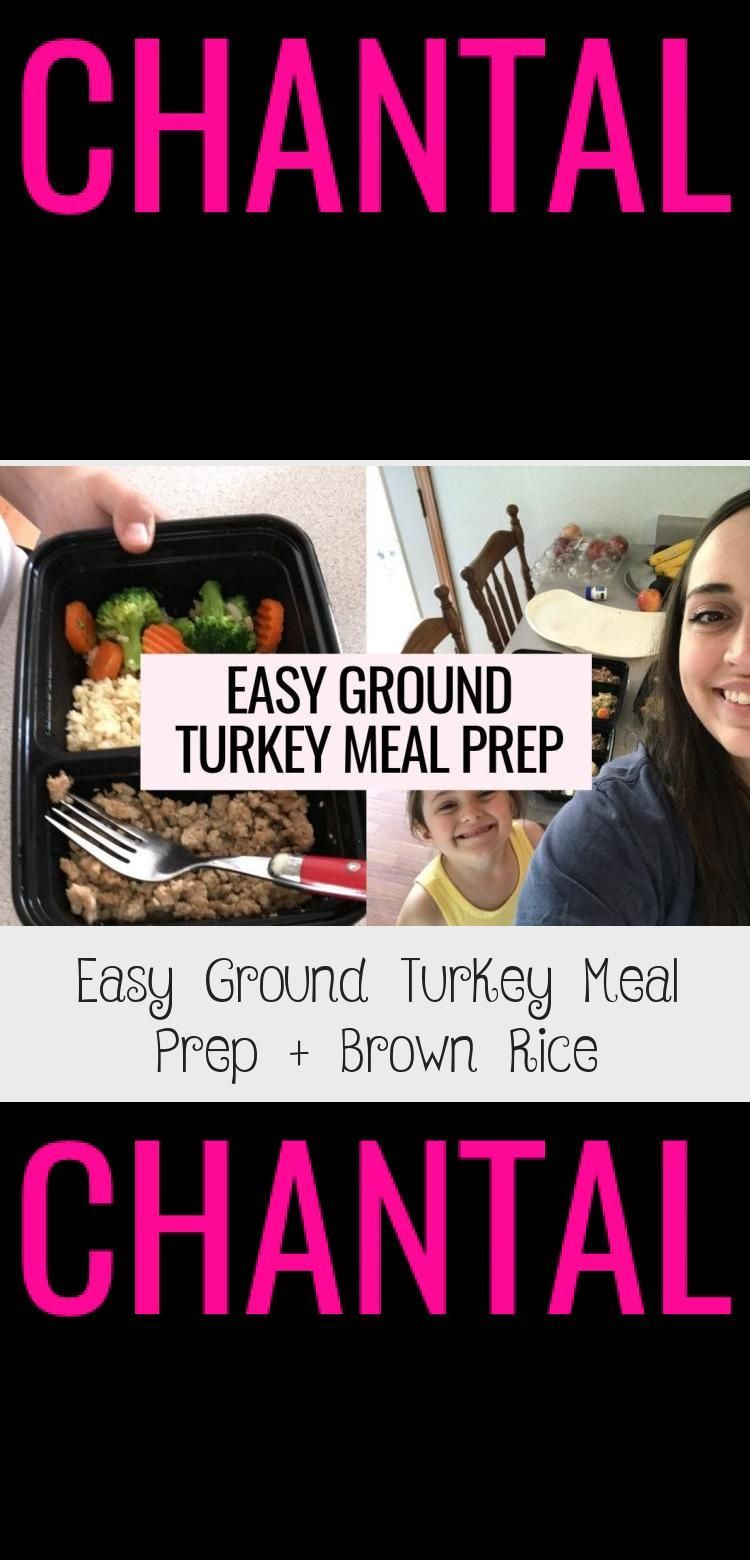 Looking for easy turkey meal prep recipes This ground turkey meal prep is my fa Looking for easy turkey meal prep recipes This ground turkey meal prep is my fa