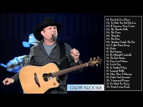 Garth Brooks Greatest Hits - Garth Brooks Songs Playlist (Full Album)