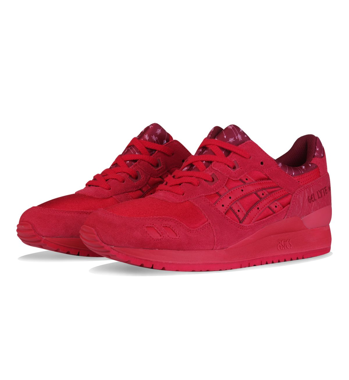ASICS WMNS Gel Lyte III Valentines Pack Red / Red - ASICS