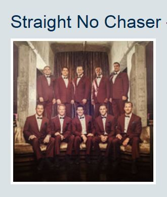 STRAIGHT NO CHASER – Feb. 16, 2015,  in Assago