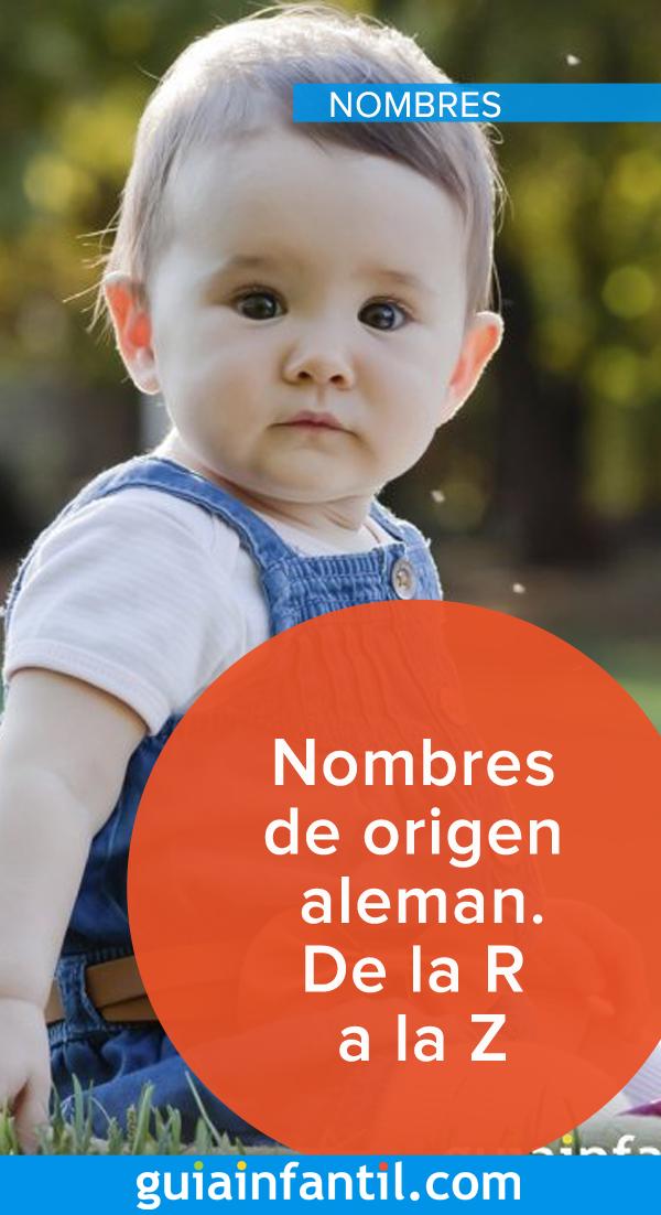 Nombres De Origen Aleman R Z Nombres De Origen Aleman Nombres De Niños Varones Nombres Para Bebes Niños